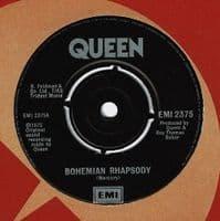 QUEEN Bohemian Rhapsody Vinyl Record 7 Inch EMI 1983